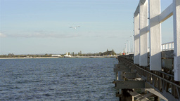 View of Busselton Jetty Looking Towards the Shore Stock Video Footage