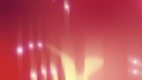 Ruby Pearls Flow Animation Loop Stock Video Footage