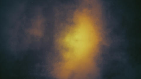 Smoky Space Nebula 2 Loop Stock Video Footage