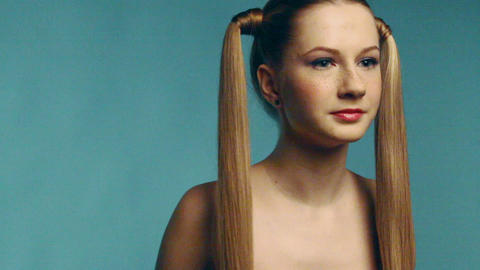Beauty girl Stock Video Footage