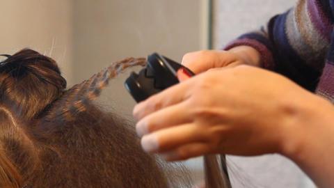 Hairdresser Stock Video Footage
