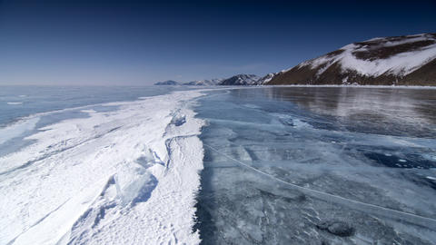 Ice Scapes Stock Video Footage