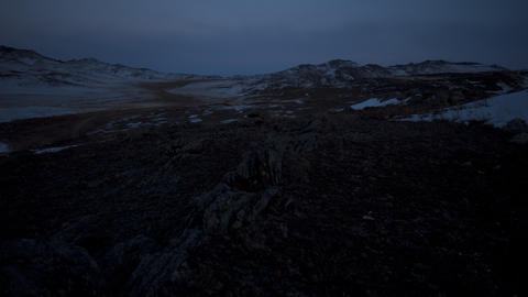 Northern dawn Stock Video Footage