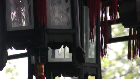Decorative lanterns Stock Video Footage