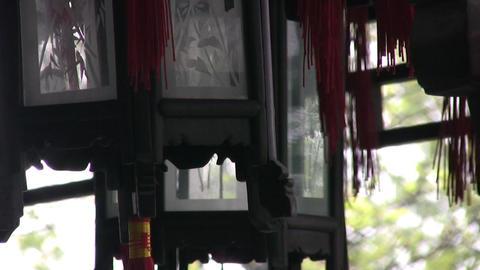 Decorative lanterns Stock Video Footage