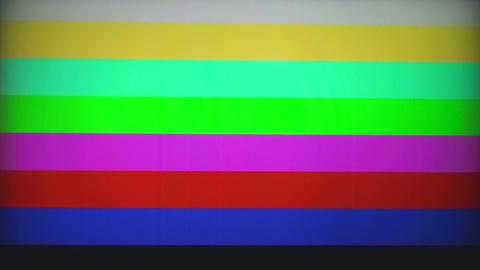 Color bar generator Stock Video Footage