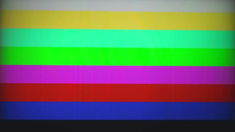 Color Bar Generator stock footage