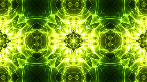 Light Streaks Ornamental Background Stock Video Footage