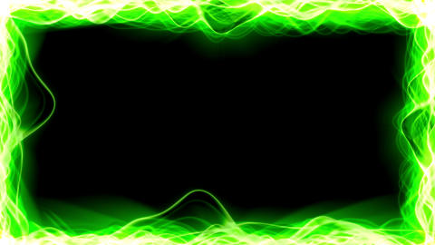 Light Streaks Border stock footage