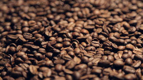 coffee in motion close-up Stock Video Footage