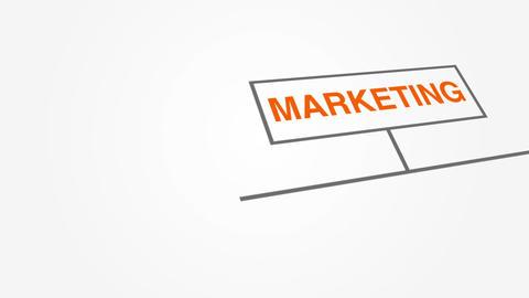 Marketing Sitemap Stock Video Footage