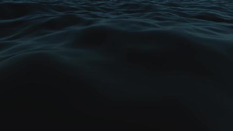 ocean waves at night Stock Video Footage