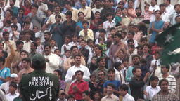 People cheering for Pakistan Stock Video Footage
