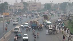 Highway, Lahore, Pakistan Footage