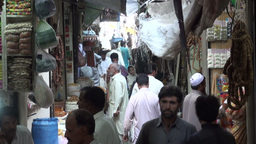 Mysterious Islamabad Bazaar Stock Video Footage