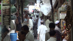Mysterious Islamabad Bazaar Stock Video Footage