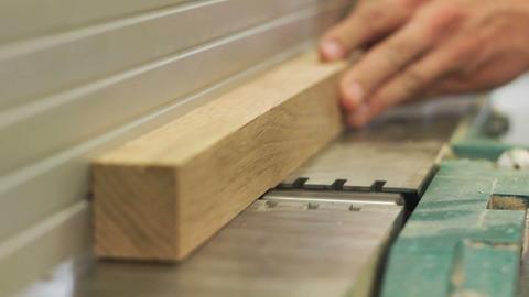 Working carpenter Stock Video Footage