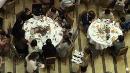 Food, Traditional, Tables, Restaurant, China, Chin stock footage