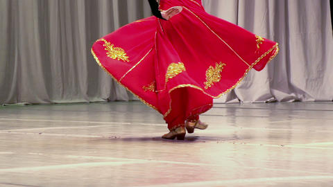 Asian Dance Stock Video Footage