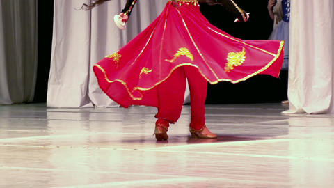 Asian Dance  stock footage