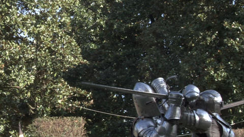 medieval fighting 15 Stock Video Footage
