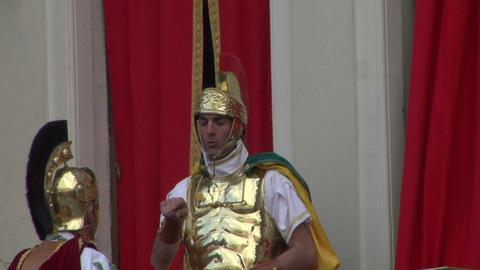 roman legionaries 02 Footage