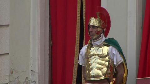 roman legionaries 04 Footage