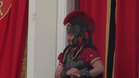 roman legionaries 06 Footage