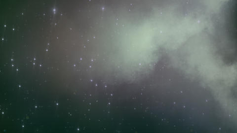 Loopable Space Backdrop 1 Animation