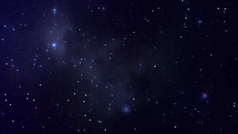 Serene Loopable Space Backdrop Stock Video Footage