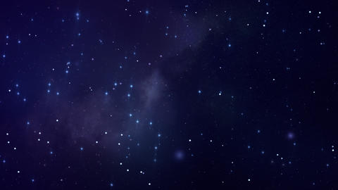 Serene Loopable Space Backdrop Animation