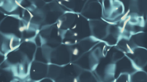 Sparkling Pool Water Loop Animation