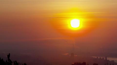 Sunrise, Time Lapse Stock Video Footage
