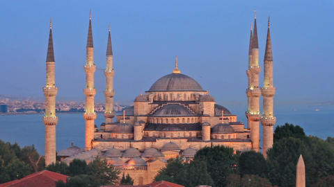 Mosques of Istanbul Footage