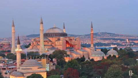 Mosques of Istanbul Stock Video Footage