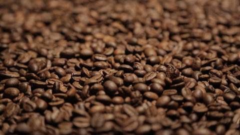 Coffee In Motion Close-up Chroma Key Background stock footage