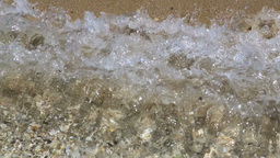 Beach Waves Background stock footage