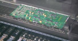 Surface Mount Technology (Smt) Machine places resistors, capacitors, transistors Footage