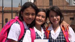 School Children Girl Friends Live Action