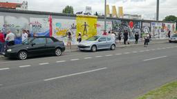 Berlin Wall - East side gallery, Germany Footage