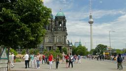 Berlin, Germany. Daily life scene Footage