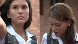 Apathetic Young Teen Girl Footage