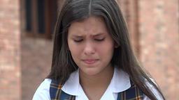Sad Girl Depressed People Footage