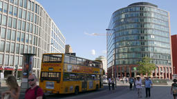 Modern architecture in Berlin, Germany. Potsdamer Platz Footage