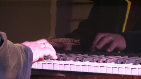 Pianist in a concert Footage