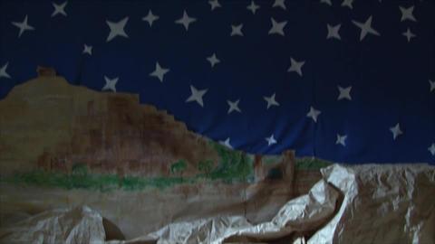 Nativity scene Footage