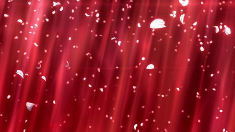 SHA Sakura Drop Image Red Animation