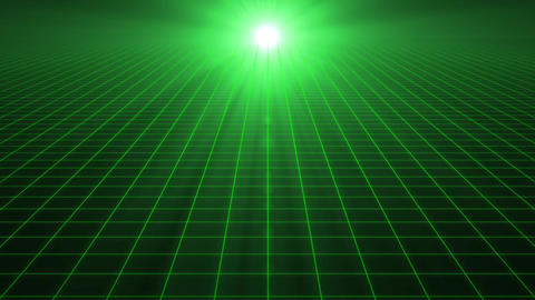 Grid CG Green Animation