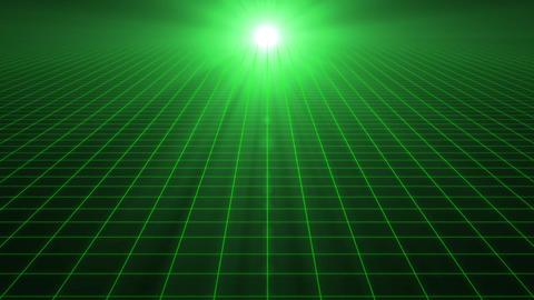 Grid CG Green Animation