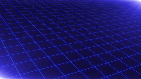 Grid CG Blue Animation